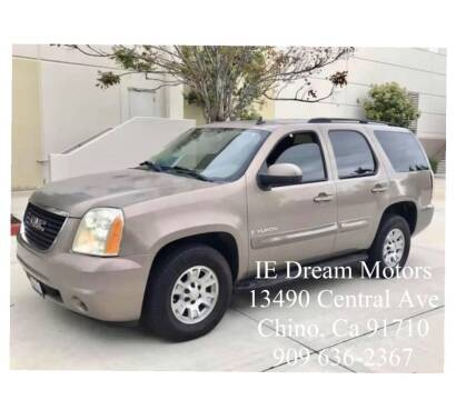 2007 GMC Yukon for sale at IE Dream Motors in Upland CA