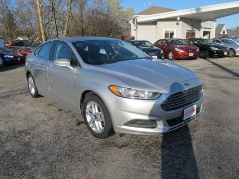 2013 Ford Fusion for sale at St. Mary Auto Sales in Hilliard OH
