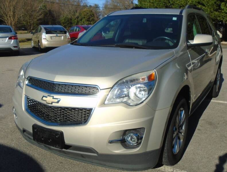 2012 Chevrolet Equinox for sale at SAR Enterprises in Raleigh NC