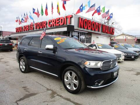 2015 Dodge Durango for sale at Giant Auto Mart 2 in Houston TX
