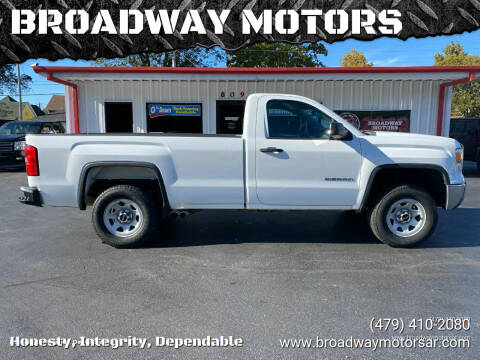 2014 GMC Sierra 1500 for sale at BROADWAY MOTORS in Van Buren AR