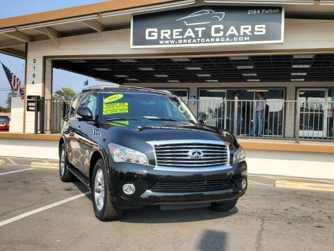 2012 Infiniti QX56 for sale at Great Cars in Sacramento CA
