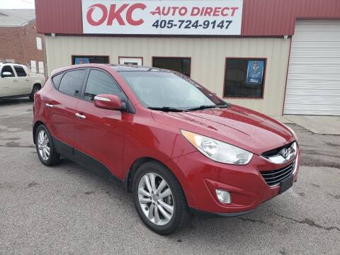 2013 Hyundai Tucson for sale at OKC Auto Direct in Oklahoma City OK