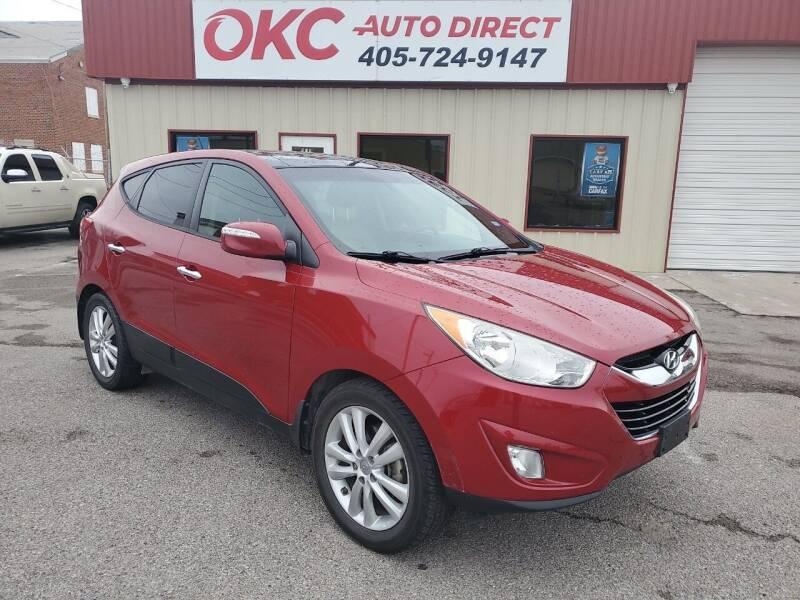 2013 Hyundai Tucson for sale at OKC Auto Direct in Oklahoma City OK