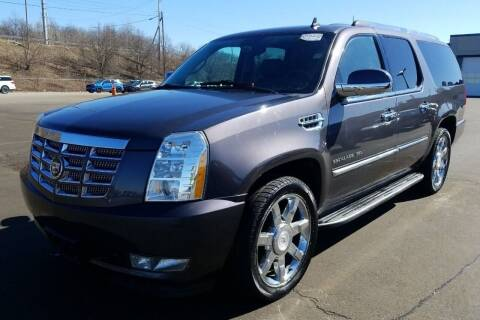 2011 Cadillac Escalade ESV for sale at Angelo's Auto Sales in Lowellville OH