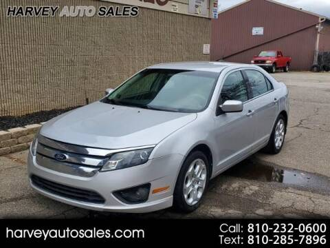2010 Ford Fusion for sale at Harvey Auto Sales, LLC. in Flint MI