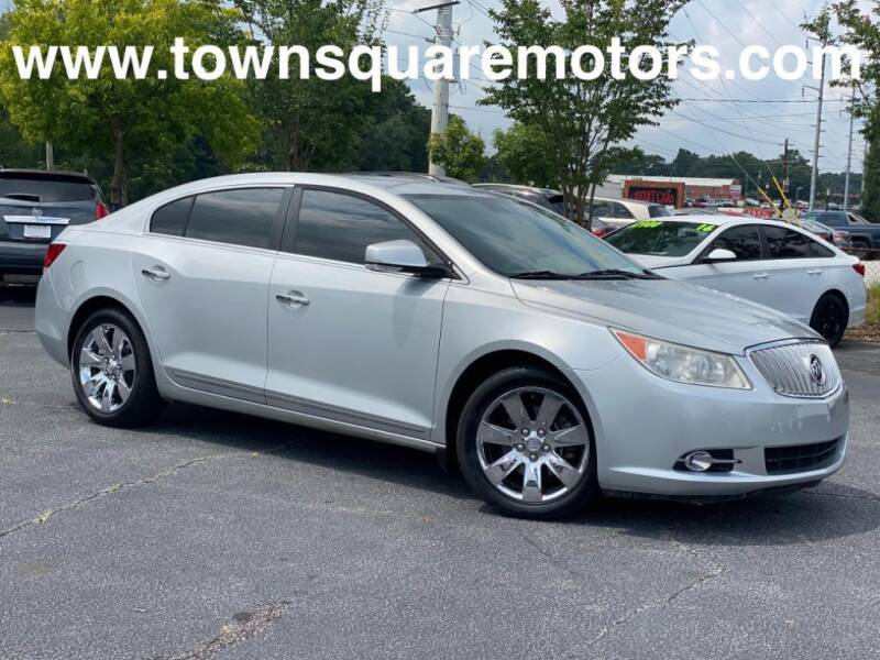 2011 Buick LaCrosse for sale at Town Square Motors in Lawrenceville GA