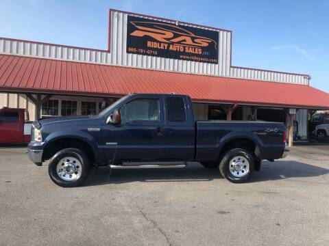 2006 Ford F-250 Super Duty for sale at Ridley Auto Sales, Inc. in White Pine TN
