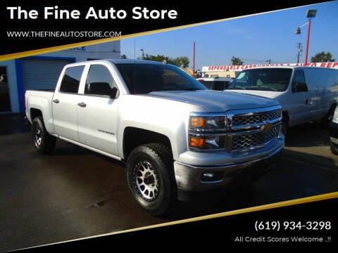 2014 Chevrolet Silverado 1500 for sale at The Fine Auto Store in Imperial Beach CA