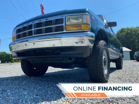 1994 Dodge Dakota for sale at Prime One Inc in Walkertown NC