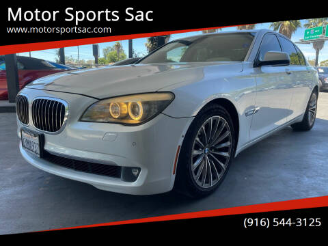 2009 BMW 7 Series for sale at Motor Sports Sac in Sacramento CA