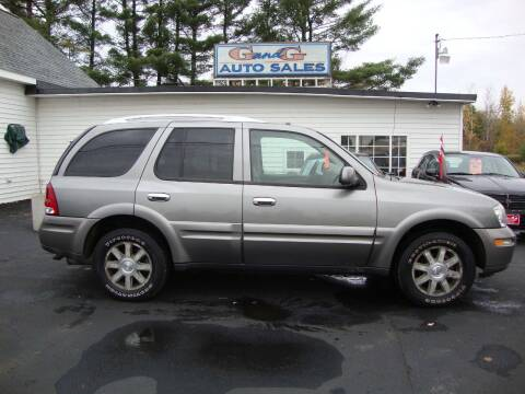 2006 Buick Rainier for sale at G and G AUTO SALES in Merrill WI