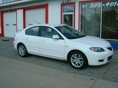 2008 Mazda MAZDA3 for sale at Cedar Auto Sales in Lansing MI