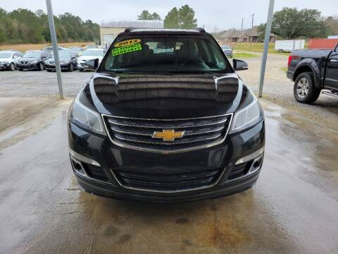 2013 Chevrolet Traverse for sale at Auto Guarantee, LLC in Eunice LA