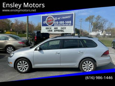 2011 Volkswagen Jetta for sale at Ensley Motors in Allendale MI