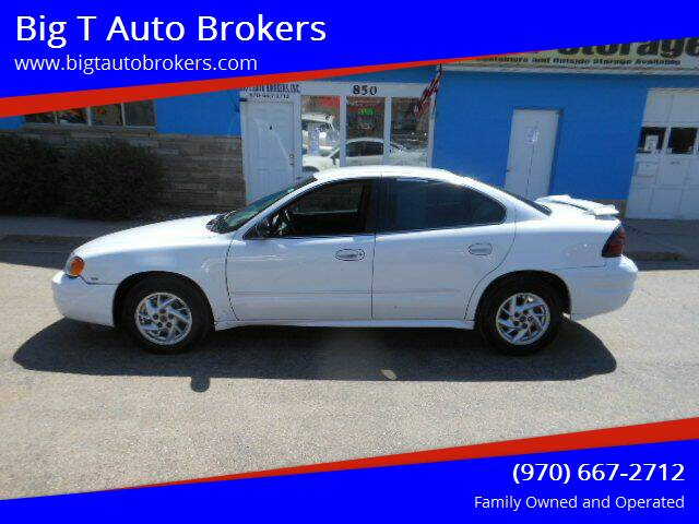 2004 Pontiac Grand Am for sale at Big T Auto Brokers in Loveland CO