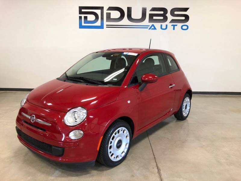 2015 FIAT 500 for sale at DUBS AUTO LLC in Clearfield UT