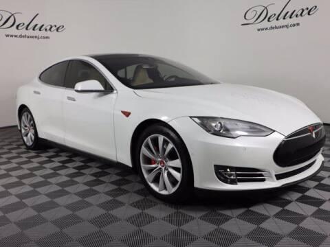 2015 Tesla Model S for sale at DeluxeNJ.com in Linden NJ