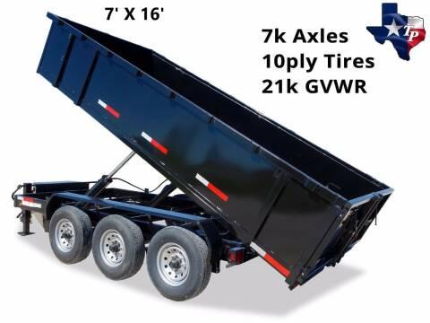 2021 TEXAS PRIDE 7' X 16' Bumper Pull 21K for sale at Montgomery Trailer Sales - Texas Pride in Conroe TX