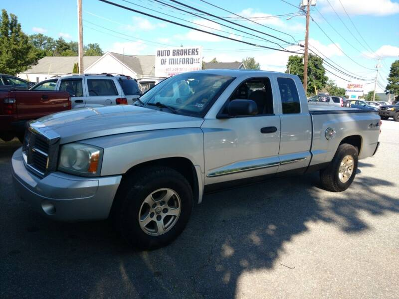 2006 Dodge Dakota for sale at Auto Brokers of Milford in Milford NH