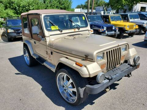 1994 Jeep Wrangler for sale at MX Motors LLC in Ashland MA