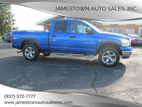 2007 Dodge Ram Pickup 1500 for sale at Jamestown Auto Sales, Inc. in Xenia OH