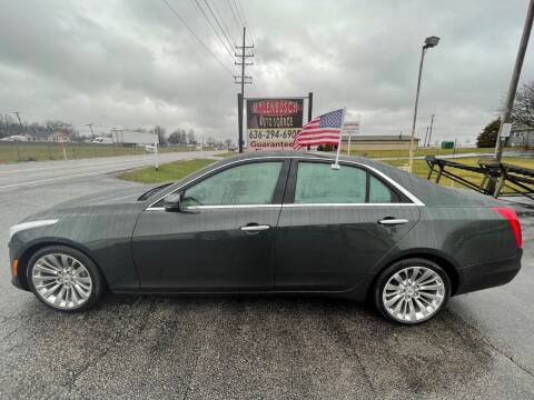 2014 Cadillac CTS for sale at MYLENBUSCH AUTO SOURCE in O` Fallon MO