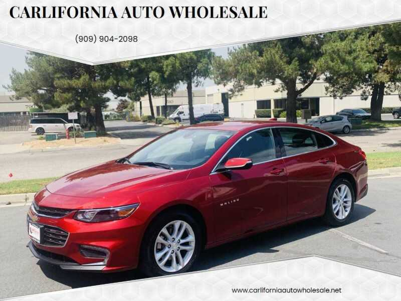 2018 Chevrolet Malibu for sale at CARLIFORNIA AUTO WHOLESALE in San Bernardino CA