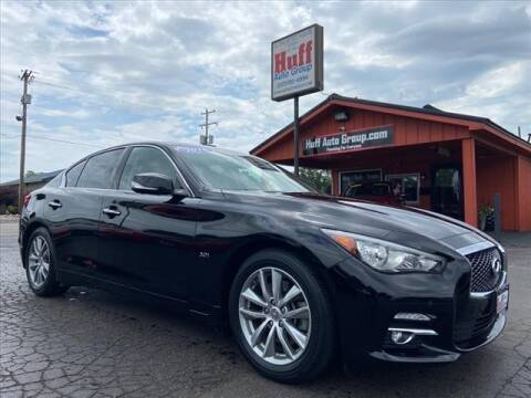 2016 Infiniti Q50 for sale at HUFF AUTO GROUP in Jackson MI