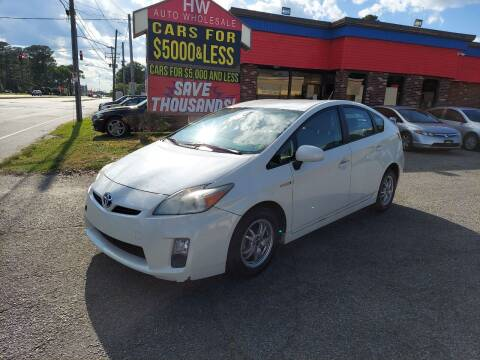 2011 Toyota Prius for sale at HW Auto Wholesale in Norfolk VA