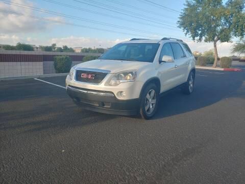 2011 GMC Acadia for sale at Sooner Automotive Sales & Service LLC in Peoria AZ