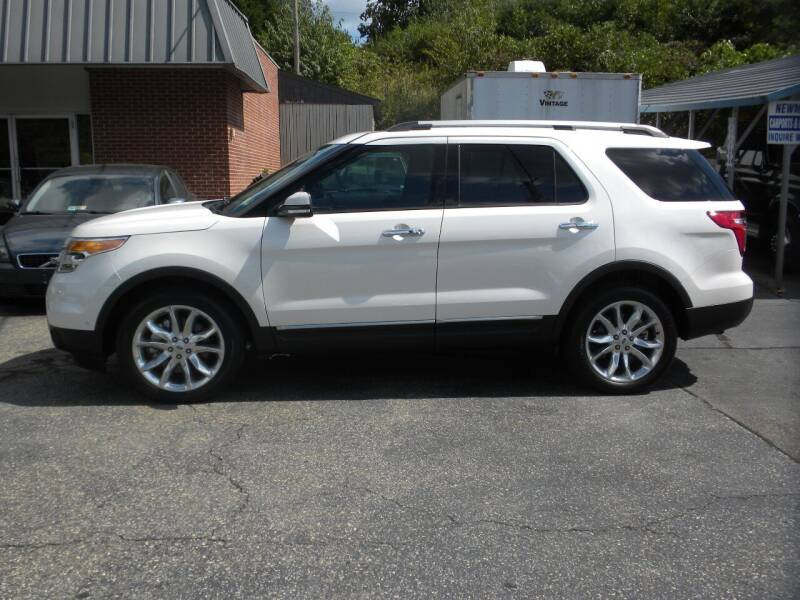 2015 Ford Explorer for sale at D & B Auto Sales & Service in Martinsville VA