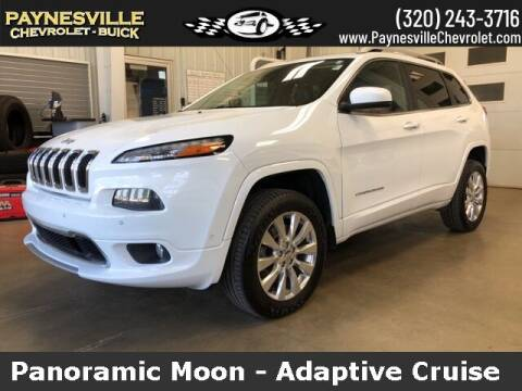 2017 Jeep Cherokee for sale at Paynesville Chevrolet Buick in Paynesville MN