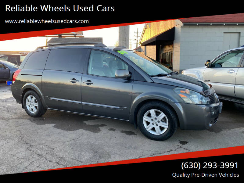 2004 Nissan Quest for sale at Reliable Wheels Used Cars in West Chicago IL