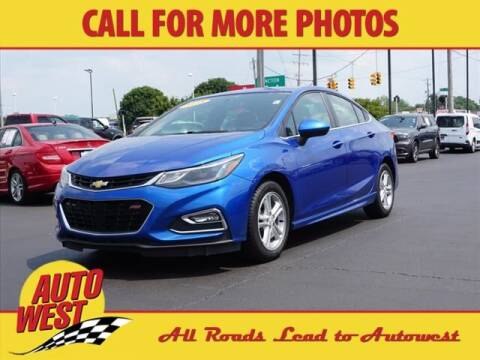 2018 Chevrolet Cruze for sale at Autowest of Plainwell in Plainwell MI