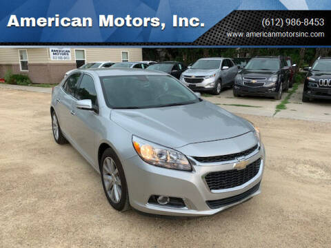 2015 Chevrolet Malibu for sale at American Motors, Inc. in Farmington MN