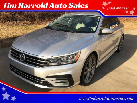 2016 Volkswagen Passat for sale at Tim Harrold Auto Sales in Wilkesboro NC