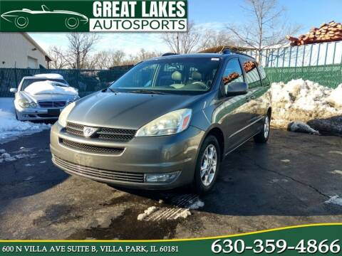 2005 Toyota Sienna for sale at Great Lakes AutoSports in Villa Park IL