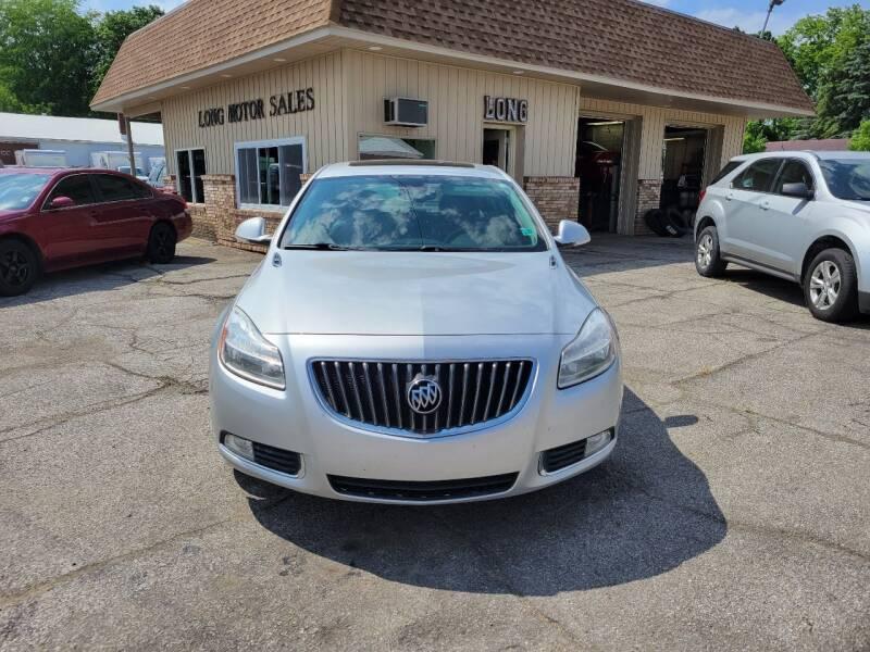 2012 Buick Regal for sale at Long Motor Sales in Tecumseh MI