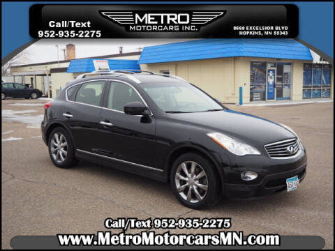 2011 Infiniti EX35 for sale at Metro Motorcars Inc in Hopkins MN