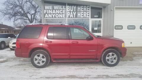 2004 Ford Explorer for sale at STERLING MOTORS in Watertown SD