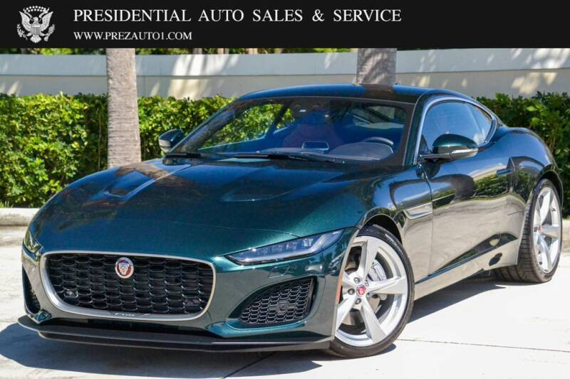 2021 Jaguar F-TYPE for sale at Presidential Auto  Sales & Service in Delray Beach FL