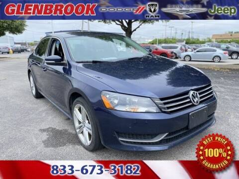 2014 Volkswagen Passat for sale at Glenbrook Dodge Chrysler Jeep Ram and Fiat in Fort Wayne IN