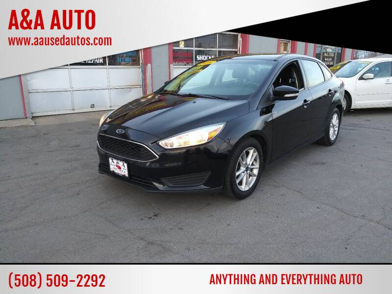 2016 Ford Focus for sale at A&A AUTO in Fairhaven MA
