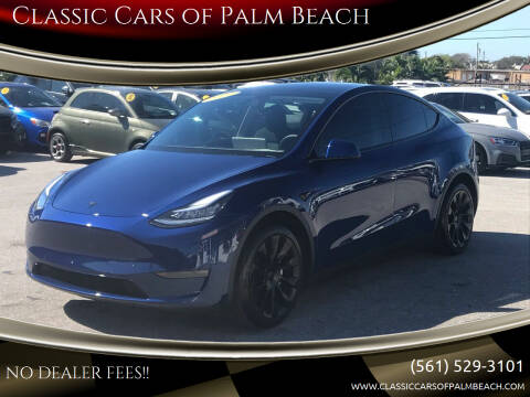 2020 Tesla Model Y for sale at Classic Cars of Palm Beach in Jupiter FL