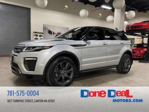 2019 Land Rover Range Rover Evoque for sale at DONE DEAL MOTORS in Canton MA