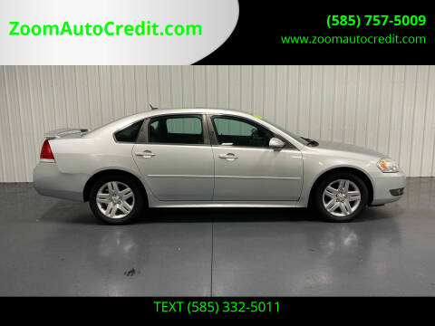 2010 Chevrolet Impala for sale at ZoomAutoCredit.com in Elba NY