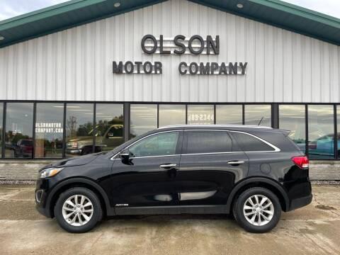 2016 Kia Sorento for sale at Olson Motor Company in Morris MN