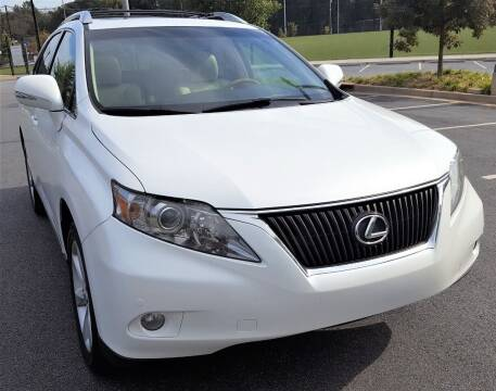 2012 Lexus RX 350 for sale at memar auto sales, inc. in Marietta GA
