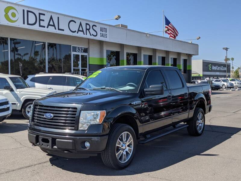 2014 Ford F-150 for sale at Ideal Cars Broadway in Mesa AZ